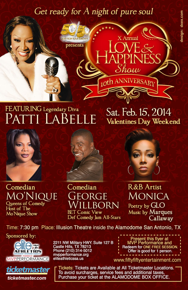 X Annual Love & Happiness Comedy Show