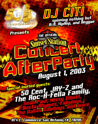 The Official Sunset Station After Party