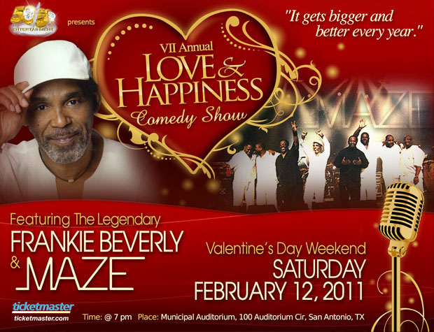 VII Annual Love & Happiness Comedy Show / Concert