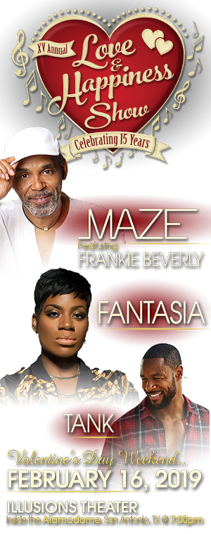15th Annual Love & Happiness Show Maze featuring Frankie Beverly, Fantasia and Tank